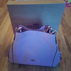 Baby Pink Coach Purse